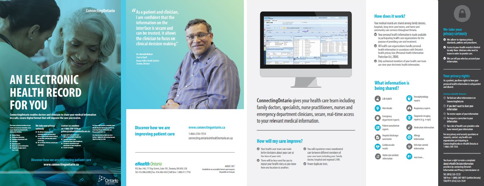 connectingontario an electronic health record for you emery